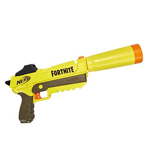 Nerf Elite Fortnite SP-L Blaster mit abnehmbarem Lauf und 6 Fortnite...