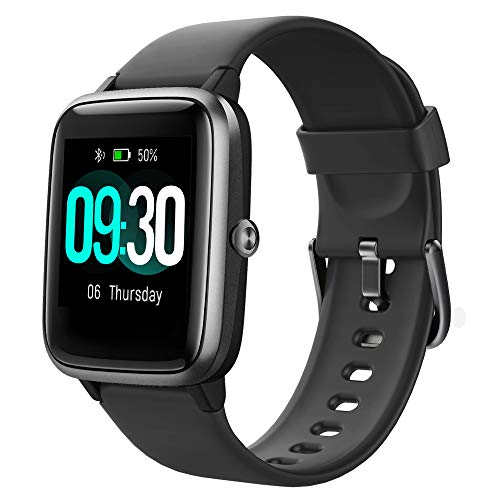Willful Smartwatch,1.3 Zoll Touch-Farbdisplay Fitness Armbanduhr mit...