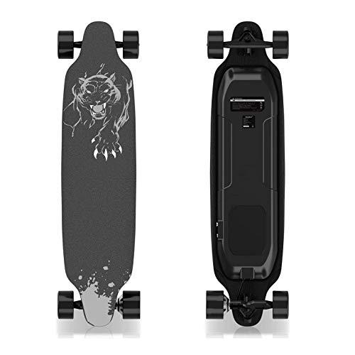 GeekMe Elektro-Skateboard mit Fernbedienung, 400-W-Longboard für...