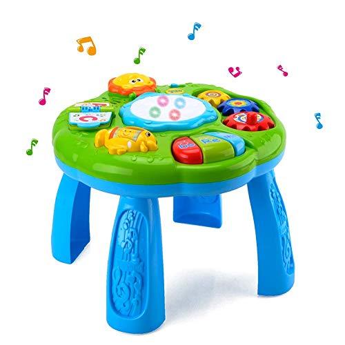HANMUN Musikalisches Lerntisch für Babys, elektronisch, Lernspielzeug...