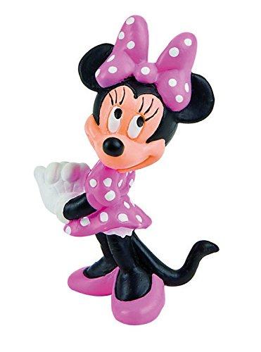 Bullyland 15349 - Spielfigur, Walt Disney Minnie Classic, ca. 7 cm groß, liebevoll handbemalte Figur,...
