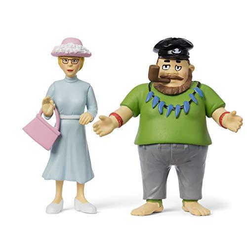 Micki & Friends 44379800 Pippi Langstrumpf Spielfiguren Vater Efraim &...