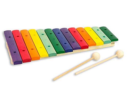 Goldon - Buntes Xylophon - Kinder-Xylofon Musik Musikunterricht Schule...