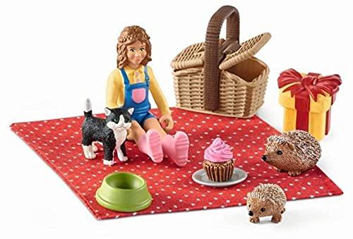 Schleich 42426 Picknick, Mehrfarbig