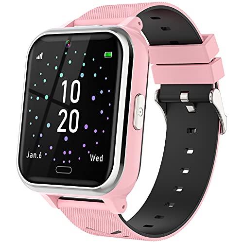 Smartwatch Kinder - Telefon Uhr mit 17 Puzzlespielen, Kamera,...