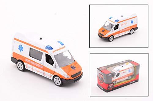 Smart Planet Super Cars Ambulance Krankenwagen mit Licht Geräusch...