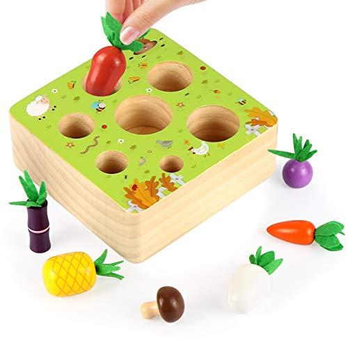 O-Kinee Holzspielzeug Montessori, Holzspielzeug, Montessori...