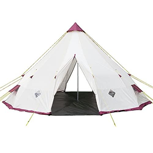 Skandika Tipi 300 / 301 Zelt Outdoor | Campingzelt für bis zu 12...