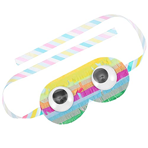 jojofuny Augenbinde Eye Shade Abdeckung Papier Auge Masken Party Spiel...