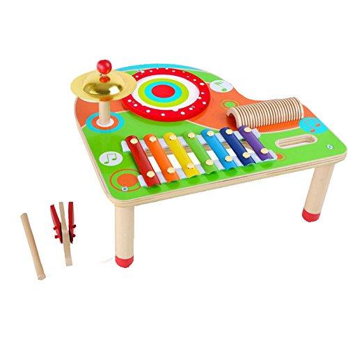 small foot 10042 Musiktisch aus Holz mit Xylophon,...