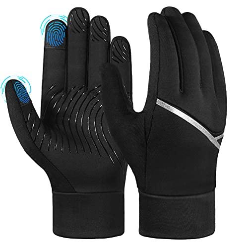 AOPOW Fahrradhandschuhe Kinder Winterhandschuhe Touchscreen Handschuhe...