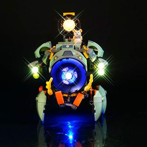 EDCAA LED-Beleuchtungsset für Overwatch Wrecking Ball Quadrupedal...