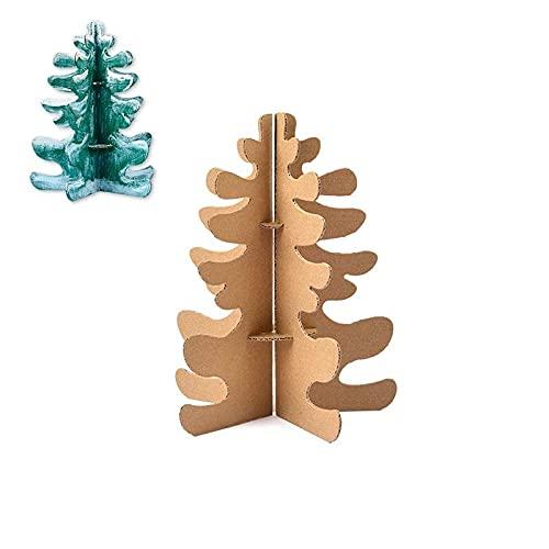 N\A Weihnachtsdekoration Papphaus lustiges Spielzeug für Kinder –...