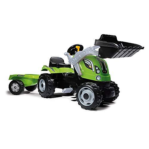 Smoby 7600710109 - Traktor Farmer XL-Loader - Trettraktor mit...