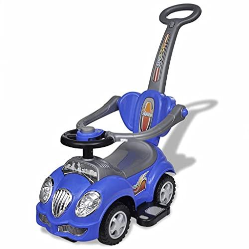 HUANGFINPI Farbe: Blau Kinderfahrzeuge Blaues Kinder-Aufsitz-Auto mit...