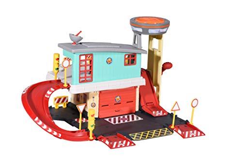 Dickie Toys 203097003 Feuerwehrmann Sam Feuerwehr Sation, Feuerwehr...