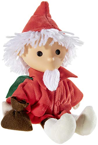 Heunec 648968 - Sandmann Puppe mit Vinylkopf und Umhang, 20 cm