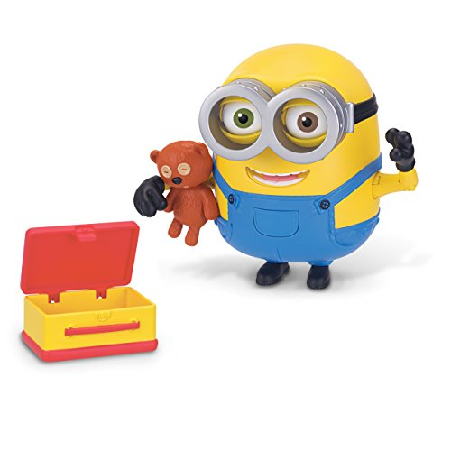 Minions Deluxe Action Figure Bob with Teddy Bear