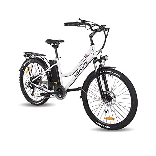 VARUN E-Bike Damen und Herren 26 Zoll mit 250W Motor 36V 10,4Ah(360Wh)...