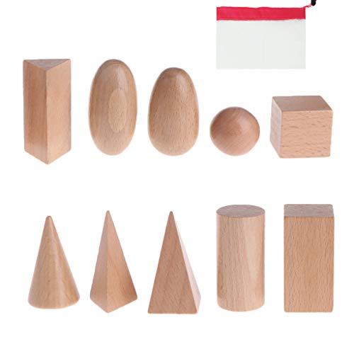 Lunji Geometrische Formen Montessori mit Tasche –...