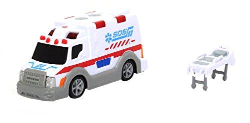 Dickie Toys 203313577 - Ambulance, Krankenwagen inklusive Batterien,...
