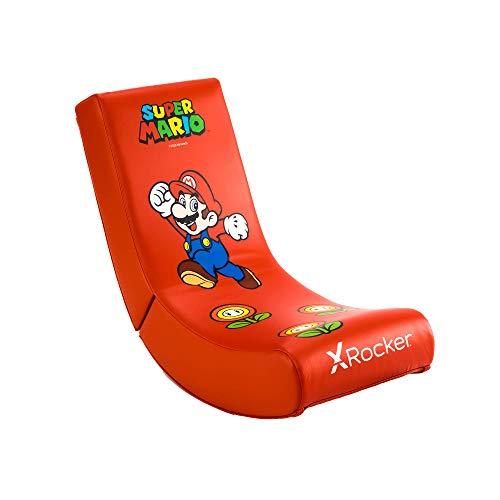X Rocker Nintendo Super Mario Floor Rocker   Gaming Sessel für Kinder...