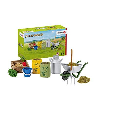 Schleich 42301 Farm World Spielset - Fütterung der...