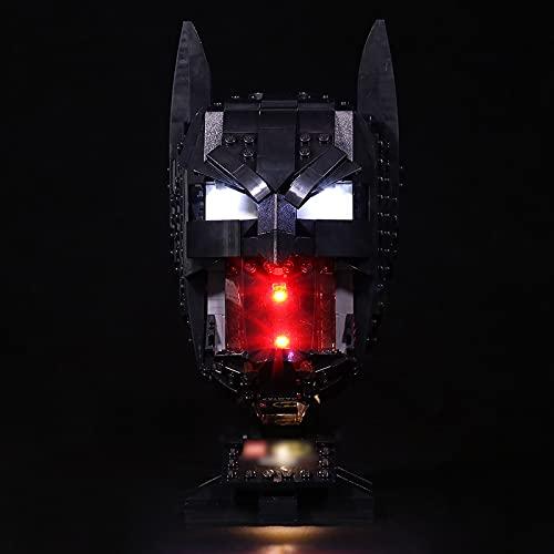 Led Beleuchtungsset Für Lego Batman Maske, Kompatibel Mit Lego 76182...