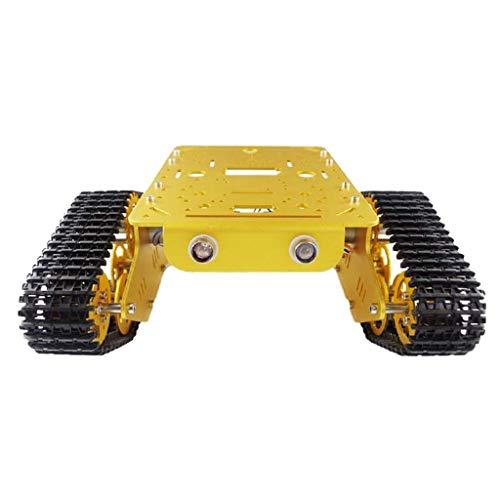 #N/A T300 Crawler Robot Chassis Kesselwagen DIY Kits - 12V-Codescheibenmotor