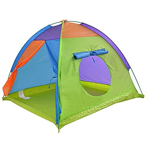 Großes Kinderzelt Kinder Outdoor Camping Zelt Tipi Tragbares Kinder...