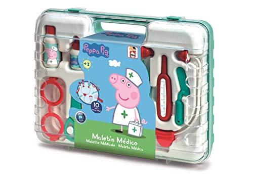 Chicos Peppa Wutz Arztkoffer, Spielzeug-Set für Kinder, 10...