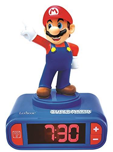 - Digitalwecker mit Nintendo Super Mario Klingeltönen - für Kinder...