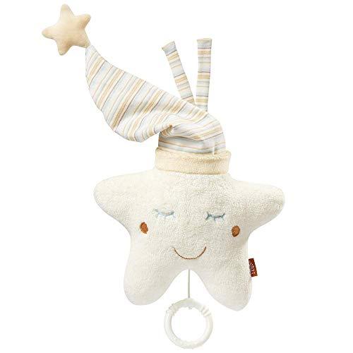 Fehn 154566 Spieluhr Stern – Aufzieh-Spieluhr mit herausnehmbarem Spielwerk zum Aufhängen an Bett,...