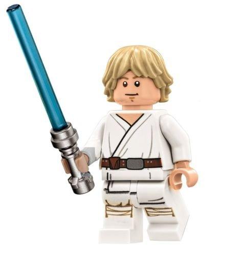 LEGO Star Wars Death Star Minifigure - Luke Skywalker with Lightsaber...
