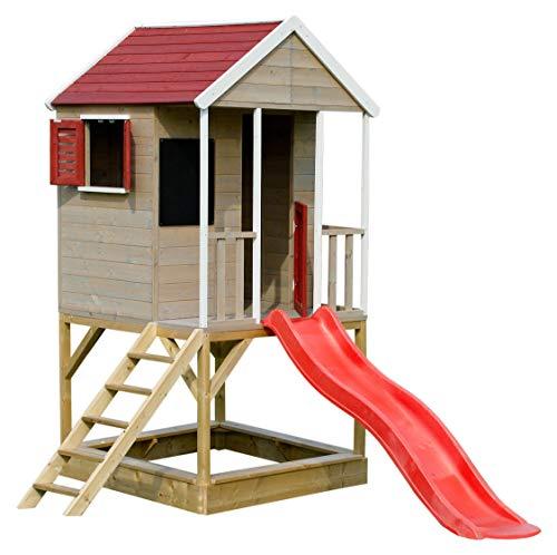 Wendi Toys M7 Spielhaus Garten Holz | Holzspielhaus Kinder Garten |...