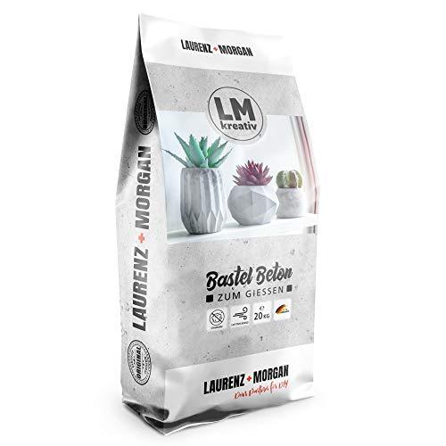 LM-Kreativ LM Bastel-Beton Premium Qualität (20 kg) Beton zum...