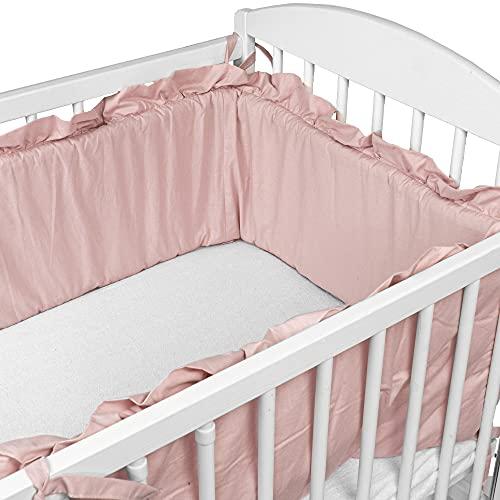 Bettumrandung Nestchen für Babybett 120x60 140x70 - Bettnestchen...