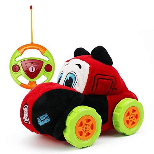 Ferngesteuertes Auto Kindergeschenk Plüsch Cartoon Radio Ferngesteuerter Auto, Waschbar Auto Spielzeug...