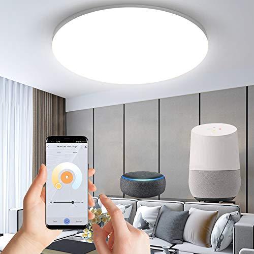 Anten Alexa Smart home 24W Deckenlampe,led deckenleuchte wifi...