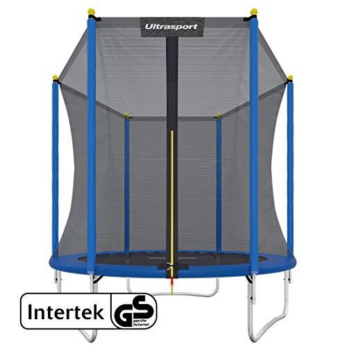 Ultrasport Uni-Jump Gartentrampolin, Intertek GS geprüft, Kinder...