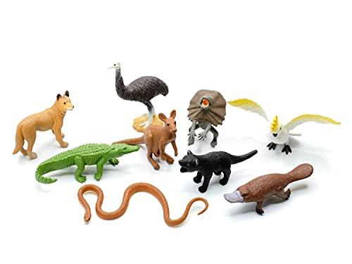 Miniblings 9X Australien Set Figuren Aufstellfiguren Tierfiguren Tiere...