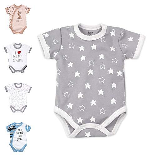 Baby Sweets Unisex Baby Kurzarm-Body für Jungen & Mädchen aus Baumwolle als Baby-Erstausstattung/Baby-Body...