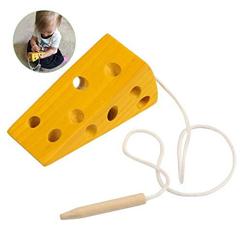 BelleStyle Montessori Aktivität Holzkäsespielzeug,...