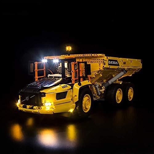 ZJLA Upgrade Light Kit LED-Leuchten für Lego 42114 Technic 6x6 Volvo...