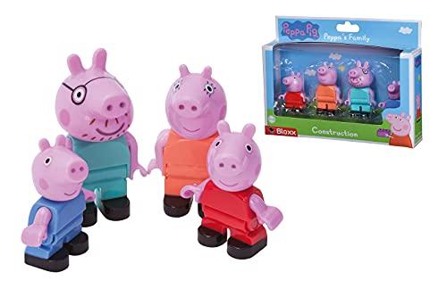 BIG-Bloxx Peppa Pig Peppa´s Family - Mama und Papa Wutz, Schorsch und...
