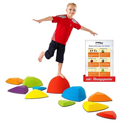 Sport-Tec Hügelkuppen-Set, Balance Spiel, Balancierspiel