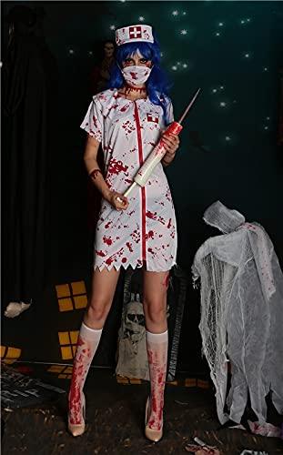 Puzzle 1000 Teile Halloween Horror Zombie Krankenschwester Naughty...