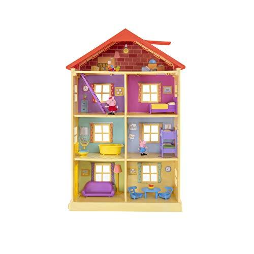 Peppa Wutz PEP0757 Peppa's Traumhaus Spielset Haus mit 2 exklusiven...