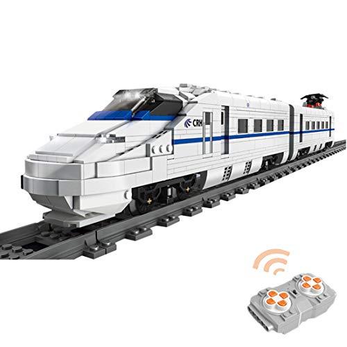 OviTop Technik Zug Eisenbahn 1808 Teile Technic Hochgeschwindigkeitszug Technik Ferngesteuert Zug mit Motor,...