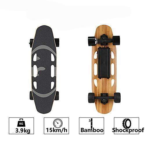 FGKING Elektro-Skateboard, elektrisch komplett Skateboards mit Fernbedienung, elektrische Caster Board,...